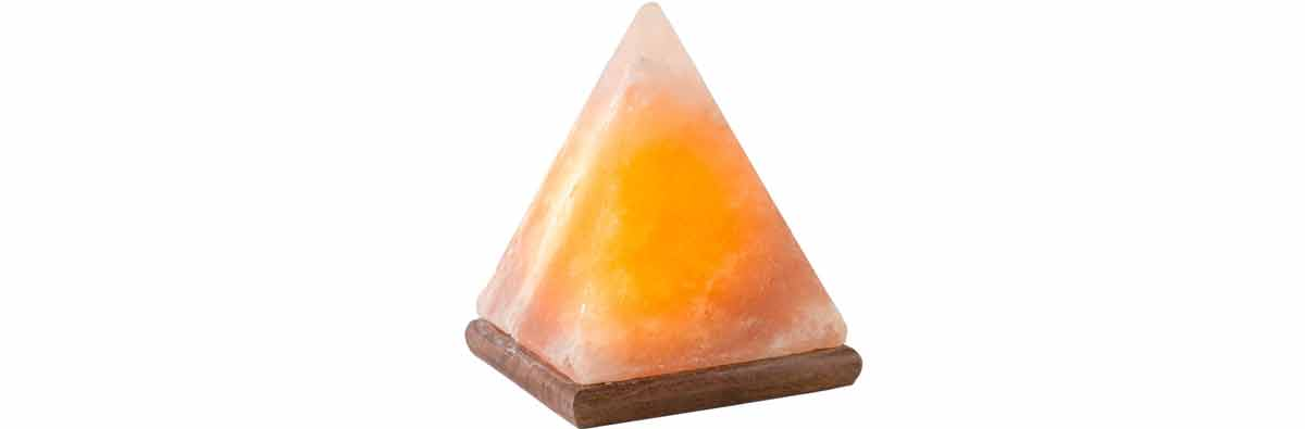 Pyramid Himalayan Salt Lamps