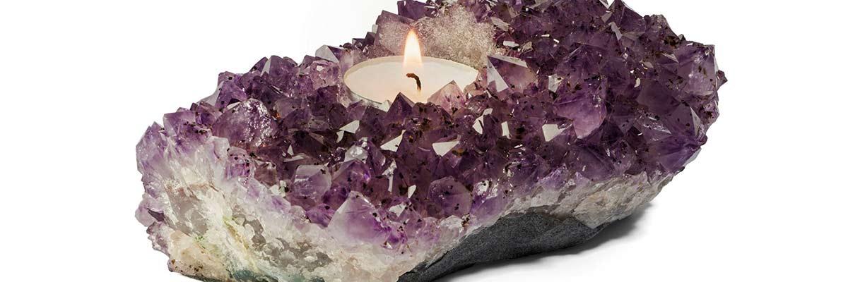 Crystal Tealight Holders