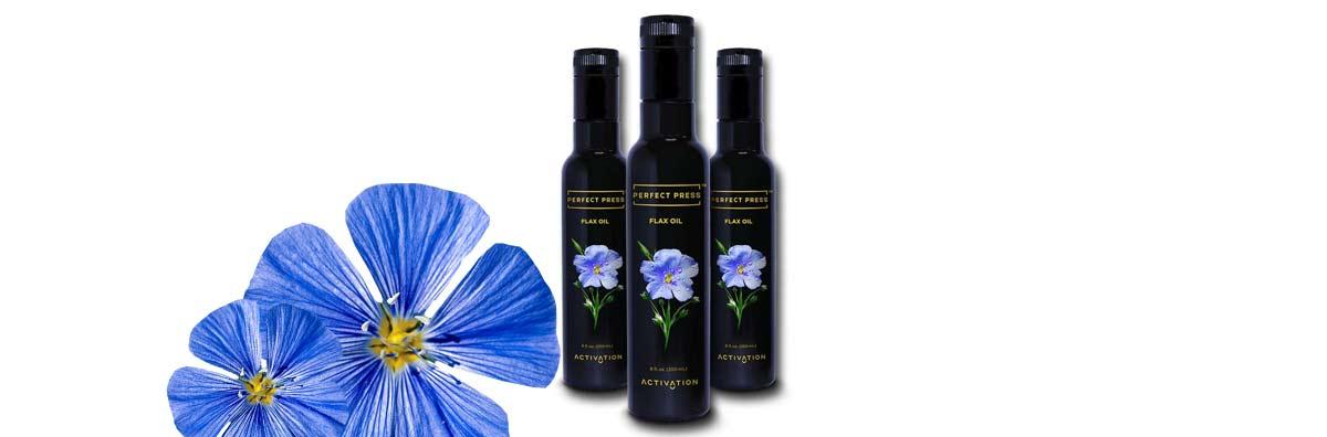 Perfect Press™ Premium Flax Seed Oil