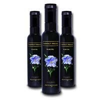 Perfect Press Flax Seed Oil 250ml 3x Pack