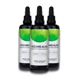 Oceans Alive Raw Phytoplankton 100ml 3x Pack 15% OFF