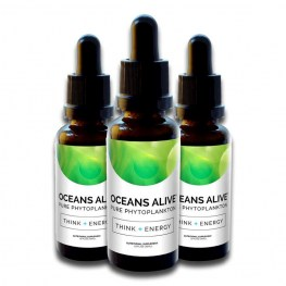Oceans Alive Raw Phytoplankton 30ml 3x Pack 15% OFF