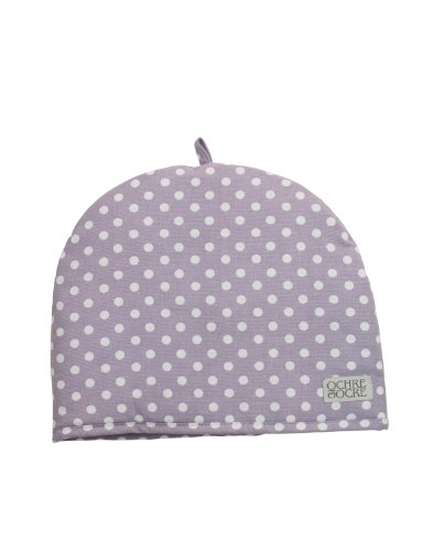 Ochre And Ocre Organic Cotton Tea Cosy Madelaine-Lavender
