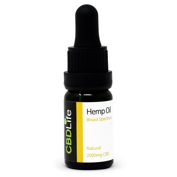 Hemp Oil Drops – 2000mg CBD