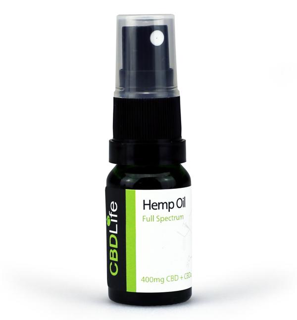 Hemp Oil Spray – 400mg CBD+CBDa