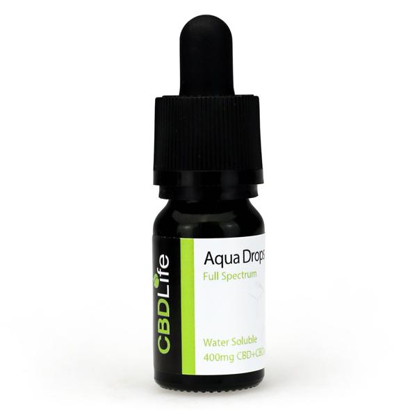 Aqua Drops – 400mg CBD+CBDa
