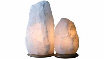 White Himalayan Salt Lamps